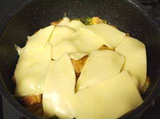 鶏肉のみそチーズ焼きサフラン使用05
