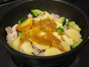 鶏肉のみそチーズ焼きサフラン使用02