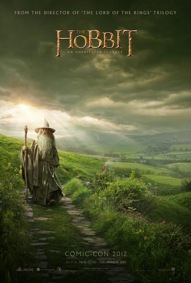 LOTR&Hobbitプチ情報 The Hobbit Comic Con Poster(完全に実写だこれ)