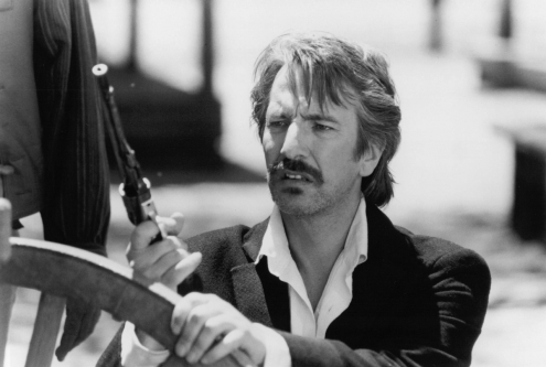 Alan Rickman in Quigley Down Under