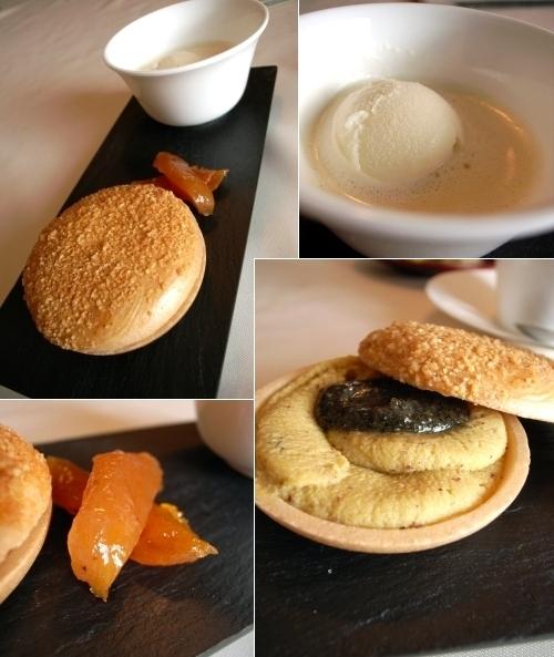 ミヤヴィ 最中と玄米茶のアイスクリーム