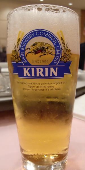 お誕生日はキリンビール