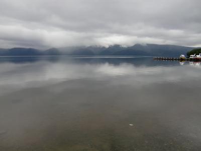 屈斜路湖は幻想的