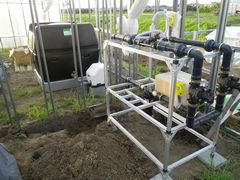 [写真]灌水システムの様子