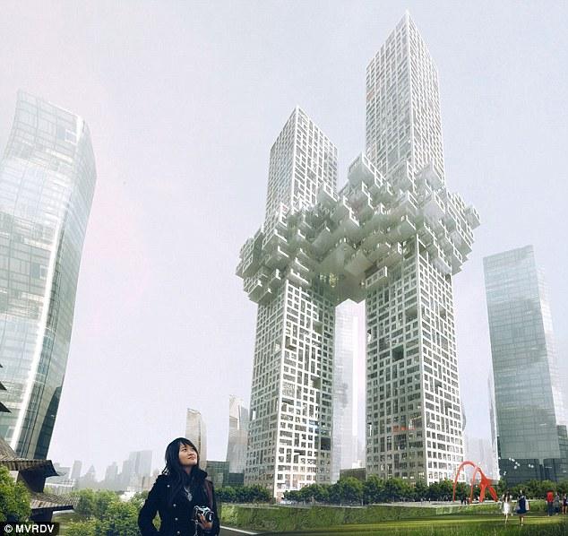 韓国に建設予定のツインタワーが9・11テロを連想させるデザインだとアメリカ人たちが激怒