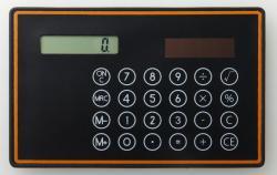 HEAD PORTER PLUSブランドカラー電卓