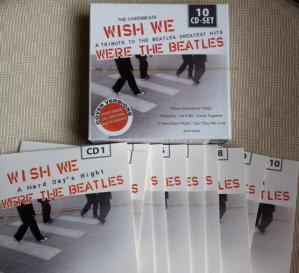 Wish we were the Beatles inside