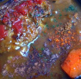 ハンバーグカレー丼スパイス