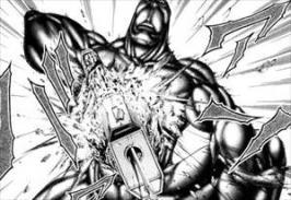 テラフォーマーズ4巻アドルフの電気で破壊される銃