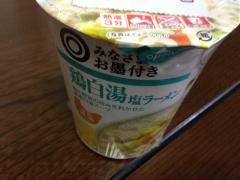 鶏白湯塩ラーメン:パッケージ
