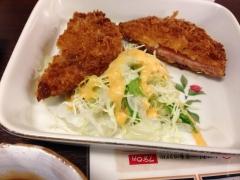 駅中食堂:ハムカツ