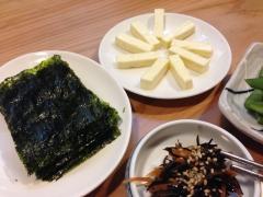 ソナム:韓国海苔とチーズ