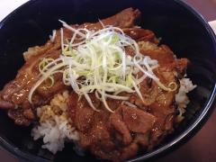 すき家炭火豚丼:商品