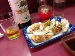 味乃文化城:ビールと餃子