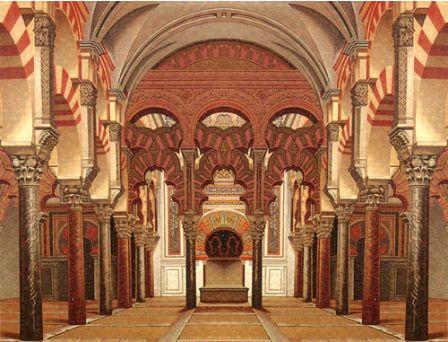 コルドバのモスク(メスキータ)内部