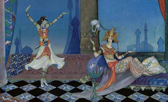 モタミッドと王妃