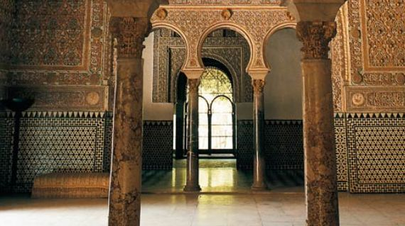 Real Alcazar de Sevillaセビーリャ王宮
