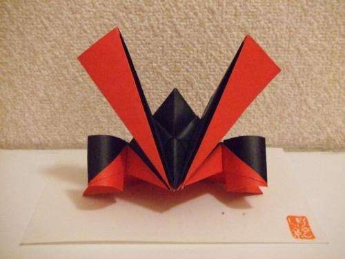クリスマス 折り紙 兜 作り方 折り紙 : divulgando.net