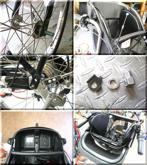 パナソニックpanasonic/ギュットデラックスgyuttoDX/BE-ENMD634/電動アシスト自転車/幼児2人乗同乗可能3人乗り対応/12.0Ahバッテリー/c
